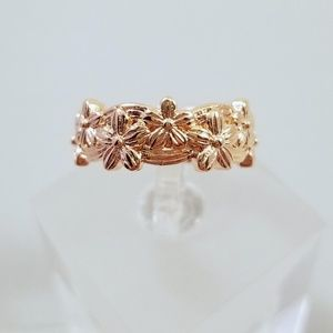 Jewelry - Infinity Rose Gold Flower Band